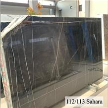 Sahara Noir Marble Slabs