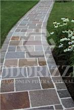Delgorsa Porphyry Paving Tiles, Split Edges