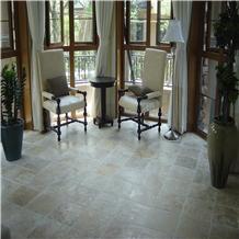 Beige Travertine Flooring Tiles