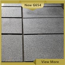 Dark Seasame Grey Granite G654 Tiles and Pavers