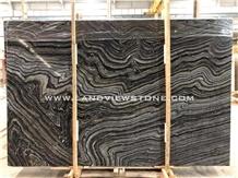 Silver Wave Kenya Hematite Black Marble Slabs