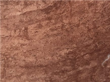 Red Travertine Slabs, Tiles
