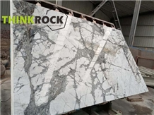 Winter River Snow Marble Honeycomb Panels