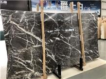 New Cyprus Grey Marble Slabs Tiles Polished