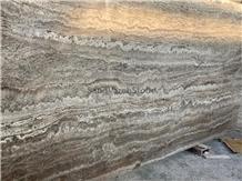 Silver Travertine Slab & Tiles Vein Cut