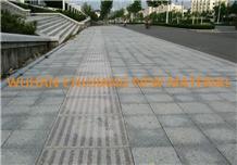 Hubei New G602 Light Grey Granite for Paving Stone
