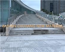 Hubei New G602 Light Grey Granite for Stair