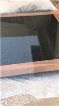 Black Granite Slabs, Mp Black Granite