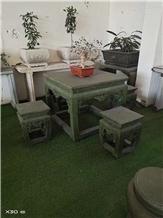 Bluestone Antique Garden Square Table Sets Benches