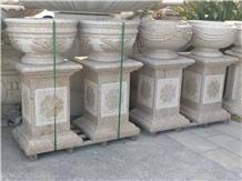 Exterior Landscape Flower Pots Basic Flower Stand