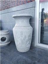 Granite Flower Pots Garden Planters Landscape Vase