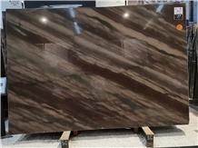 Elegant Brown Quartzite Floor Wall Slab Tiles
