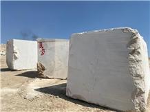 Iranian Cream Marble Block
