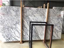 Arabescato White Marble Slab for Floor Tiles