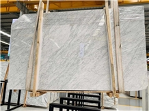 Bianco Carrara Marble Slab for Floor Covering