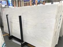 Bianco Milan Marble Slab for Flooring Tiles