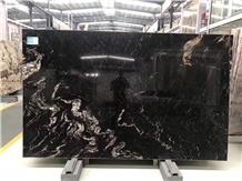 Black Cosmic Granite for Wall Covering