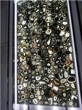 Black Semiprecious Stone for Tabletops