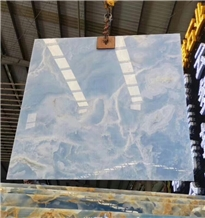 Blue Brown Onyx for Wall and Floor Tile
