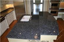 Blue Pearl Granite Countertops for Project