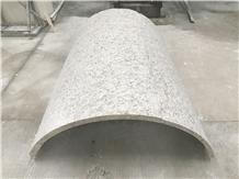 Giallo Sofia Granite Arc Column Panels