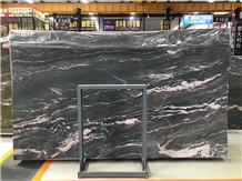 Kowloon Green Marble Slab for Flooring Application
