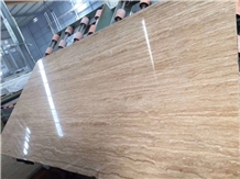 Kula Light Travertine Slab for Project