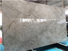 Normandy Grey Marble Slab for Hotel Project