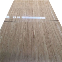 Osor Travertine Slab for Wall Covering