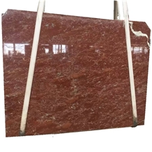 Rose Red Marble Slab for House Decoration