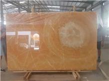 Royal Orange Onyx Slab for Project