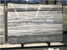 Sea Wave Grey Marble for Wall Cladding