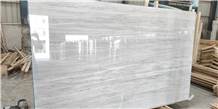 Striato Argento Marble Slab for Flooring Tiles
