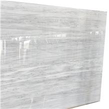 Vermion White Marble Slab for Floor Application