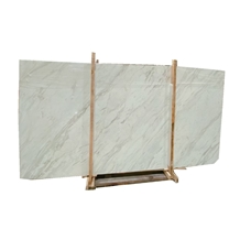 Volakas Diagonal Marble Slab for Project