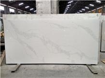 White Artificial Quartz Stone for Wall Tile