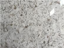 White Artificial Quartz Stone Rfy10112