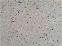 White Crystal Terrazzo Tile for Floor Covering