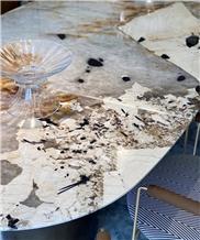White Soul Granite for Table Top