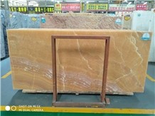 Yellow Onyx Stone for Wall Tiling