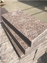 Leznykivske Granite, Maple Red Ukraine, Leznykivskoe Red Granite Facing Tiles