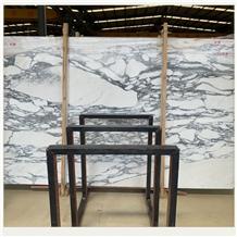 Arabescato White Marble Square Meter Price Slab