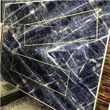 Azul Blue Quartzite Honeycomb Panels