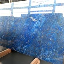 Brasil Blue Ice Quartzite Slabs