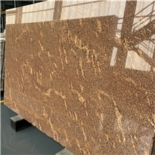 Brasil California Gold Slabs Tiles