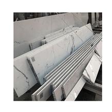 Calacatta White Marbla Composite with Aluminium