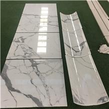 Calacatta White Marble Honeycomb Panels