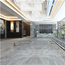 Chinese White Jade Marble Building Project