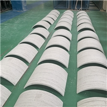 Customized Natural Stone Hollow Marble Column