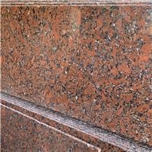 Decorative Natural Rosso Santiago Red Granite